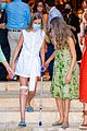 infanta sofia injured knee leans on leonor fam visit 44
