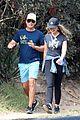 rob lowe maria shriver go for a walk 06