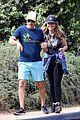 rob lowe maria shriver go for a walk 14