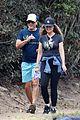 rob lowe maria shriver go for a walk 18