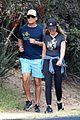 rob lowe maria shriver go for a walk 22