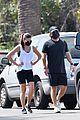 lea michele zandy reich on a walk 44