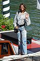 taylor hill matches mask to dress venice film festival 10