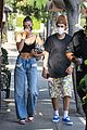 hailey bieber justin bieber lunch dinner with friends la 06