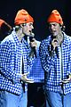 justin bieber opens american music awards lonely and holy 04