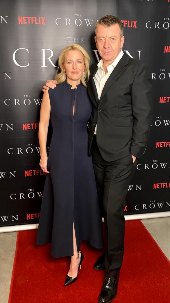 crown cast took own premiere pics at home lockdown 02