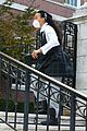 Photo 14 of 'Gossip Girl' Stars Spotted in Their School Uniforms for Latest Scene (Photos)
