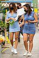 emily ratajkowski cradles her growing baby bump shopping for flowers 06