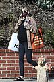 emma roberts seen with growing baby bump 13