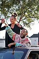 chrissy teigen john legend hang out of car celebrate biden 38