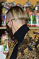 princess charlene monaco shaved half head gift distribution 05
