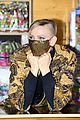 princess charlene monaco shaved half head gift distribution 17