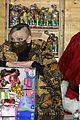 princess charlene monaco shaved half head gift distribution 21