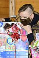 princess charlene monaco shaved half head gift distribution 37