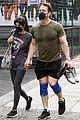 john cena shows off muscles leaving gym wife shay 05