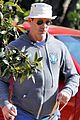 jon hamm anna osceola take his dog for afternoon walk 02