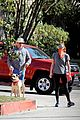 jon hamm anna osceola take his dog for afternoon walk 06