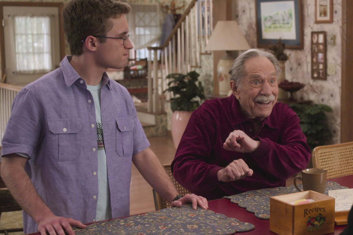 george segal final goldbergs episode tribute 01