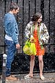 lily collins caught in rain with lucas bravo emily in paris 25