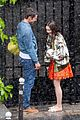 lily collins caught in rain with lucas bravo emily in paris 41