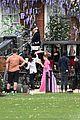 phoebe dynevor filming bridgerton 86