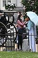 phoebe dynevor filming bridgerton 90