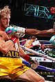 floyd mayweather logan paul fight goes eight rounds 14