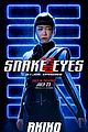 snake eyes character posters 02.
