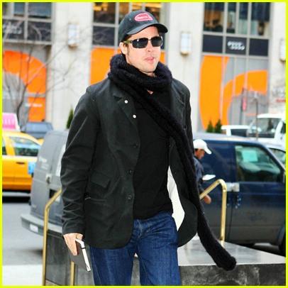 Brad Pitt NYC