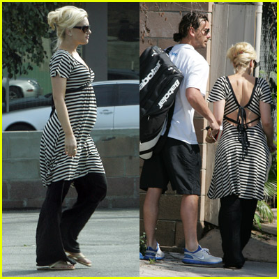 gwen stefani pregnant gwen stefani pregnant 13. Gwen Stefani and son Kingston head over to her ...