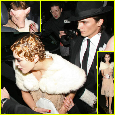 Keira Knightley's 21st Birthday Party