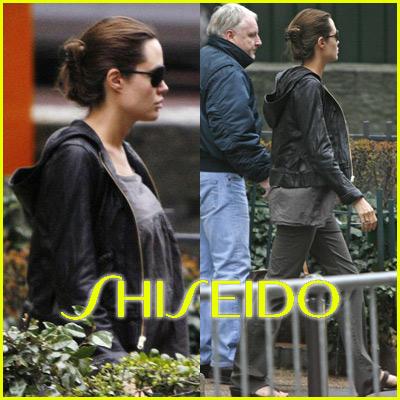 Angelina Jolie Shiseido