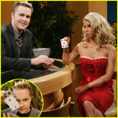 Jessica Simpson Magic Tricks