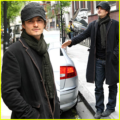 Orlando Bloom Shopping