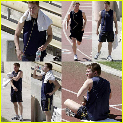 Ryan Phillippe Running Track