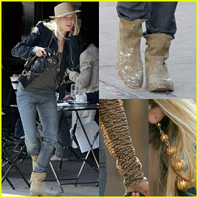 Sienna Miller's Straw Hat Again