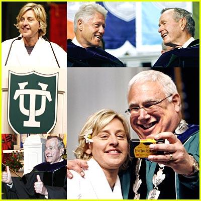 Ellen DeGeneres' Tulane University Commencement