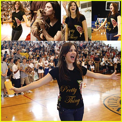 Katharine McPhee At Notre Dame High School