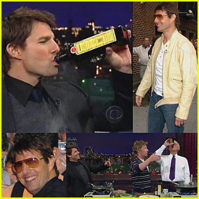 Tom Cruise Drinks Olive Oil