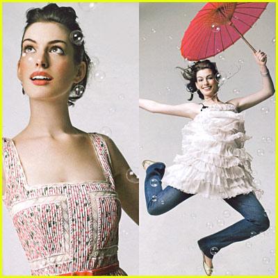 Anne Hathaway: Instyle Magazine