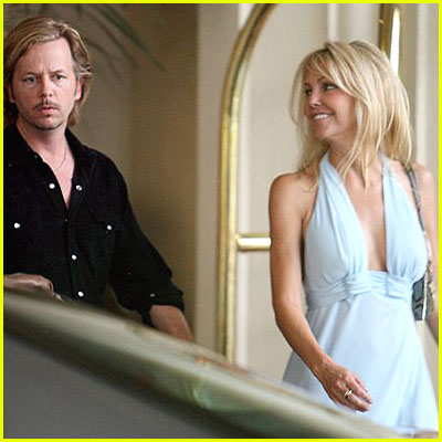 Heather Locklear & David Spade Together Again