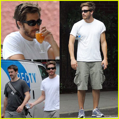 Jake Gyllenhaal Back in NYC