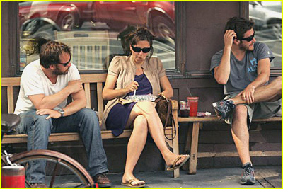Jake, Maggie, and Peter Have Lunch