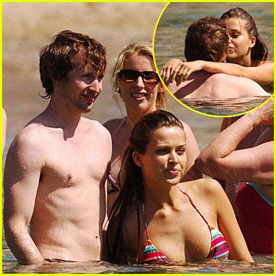 Petra Nemcova + James Blunt Pictures