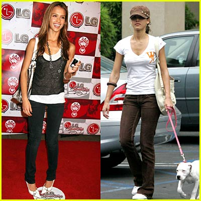 Jessica Alba Backs Justin Timberlake's William Rast Clothing Line