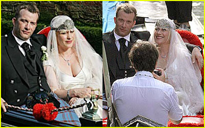 Patricia Arquette & Thomas Jane Wedding Pictures