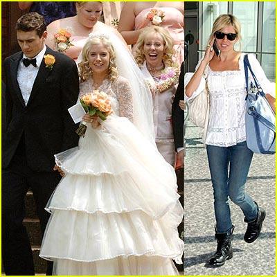 Sienna Miller's Wedding Day