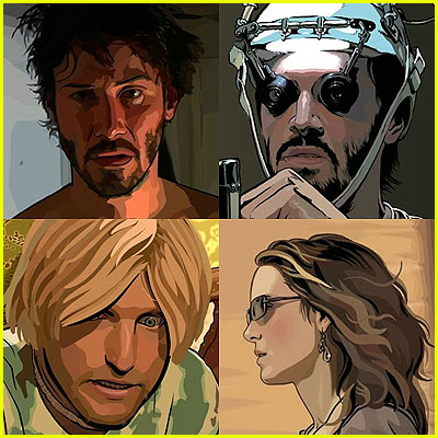 A Scanner Darkly screen captures