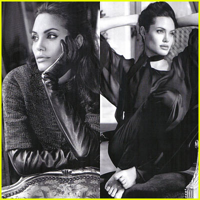 Angelina Jolie: St. John Ads