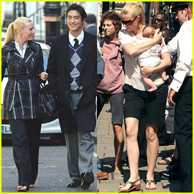 Gwyneth Paltrow & Daniel Henney Reunite